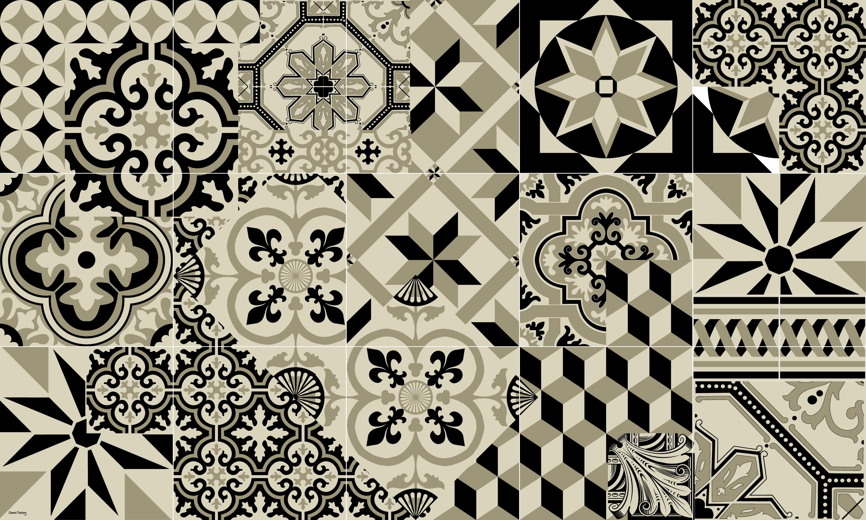 Tapis Imitation Carreaux De Ciment Vinyle tapis vinyle carreaux de ciment - léon