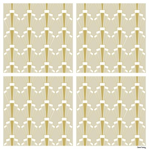 *Sticker Georges - Beige Chic
