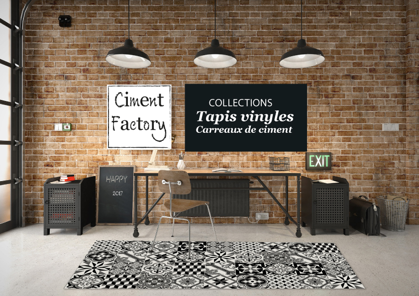 Catalogue Tapis Vinyles Carreaux de Ciment - Made in France