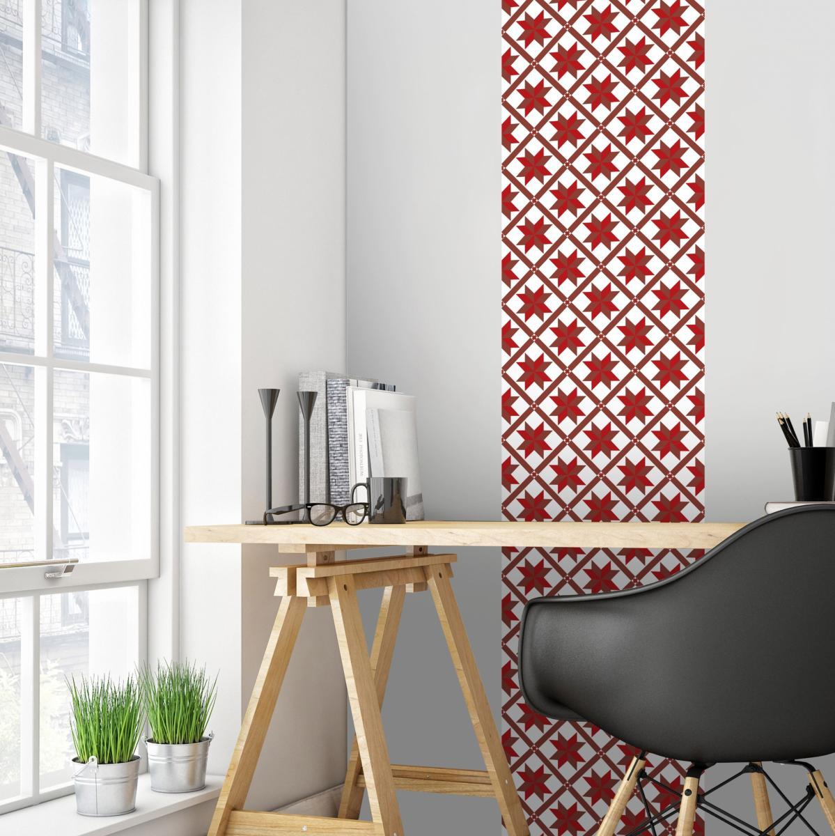 Tapisserie Carreaux De Ciment papier peint carreaux de ciment - marguerite