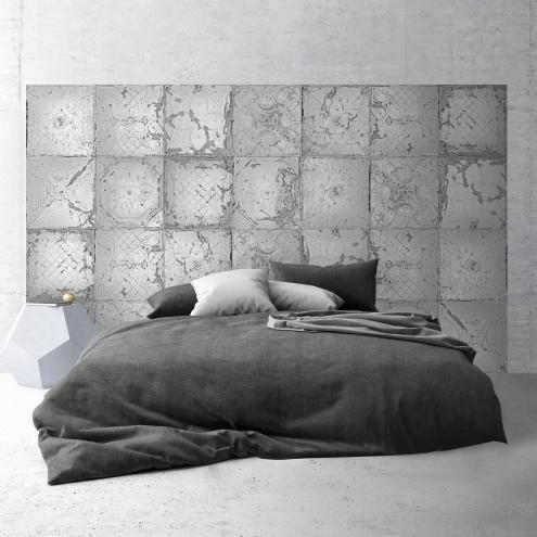 t te de lit adh sive plaques victoriennes tin tiles. Black Bedroom Furniture Sets. Home Design Ideas