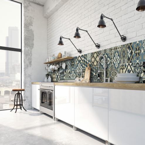 Credence Adhesive Deco Interieure Design Tendance Ciment Factory