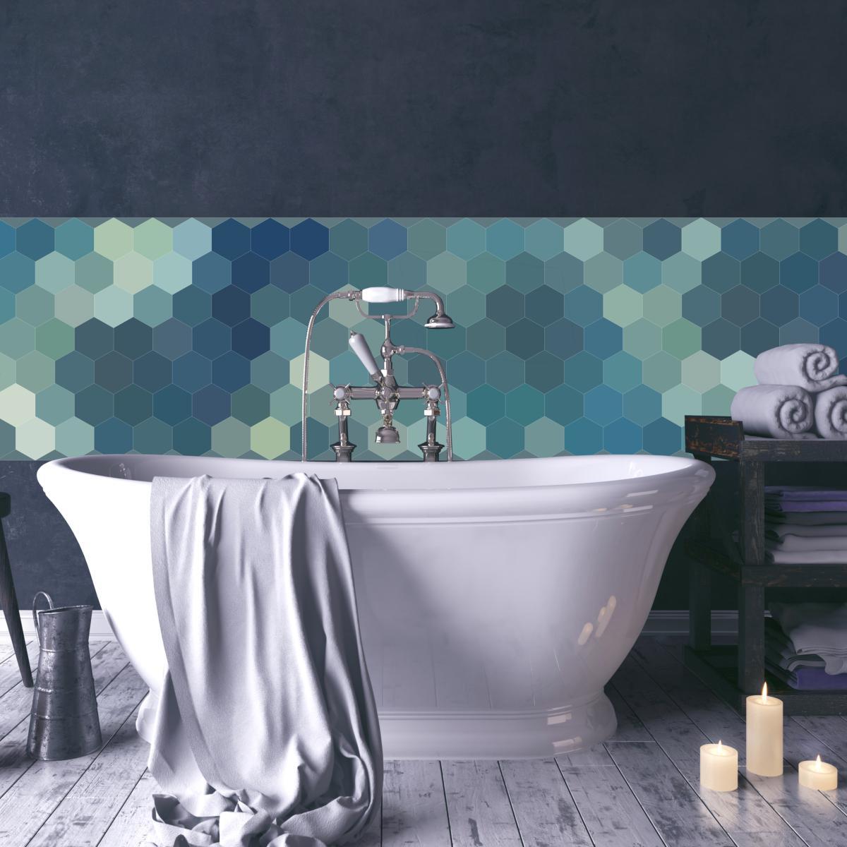 cr dence adh sive carreaux de ciment perrine. Black Bedroom Furniture Sets. Home Design Ideas