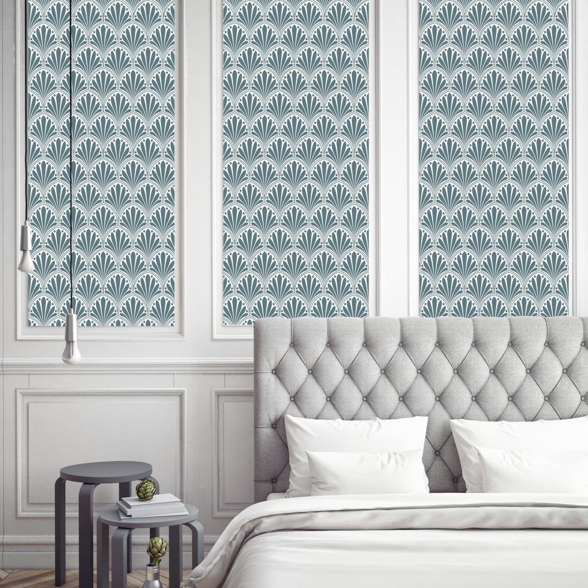 tapis vinyle carreaux de ciment ginette rose. Black Bedroom Furniture Sets. Home Design Ideas