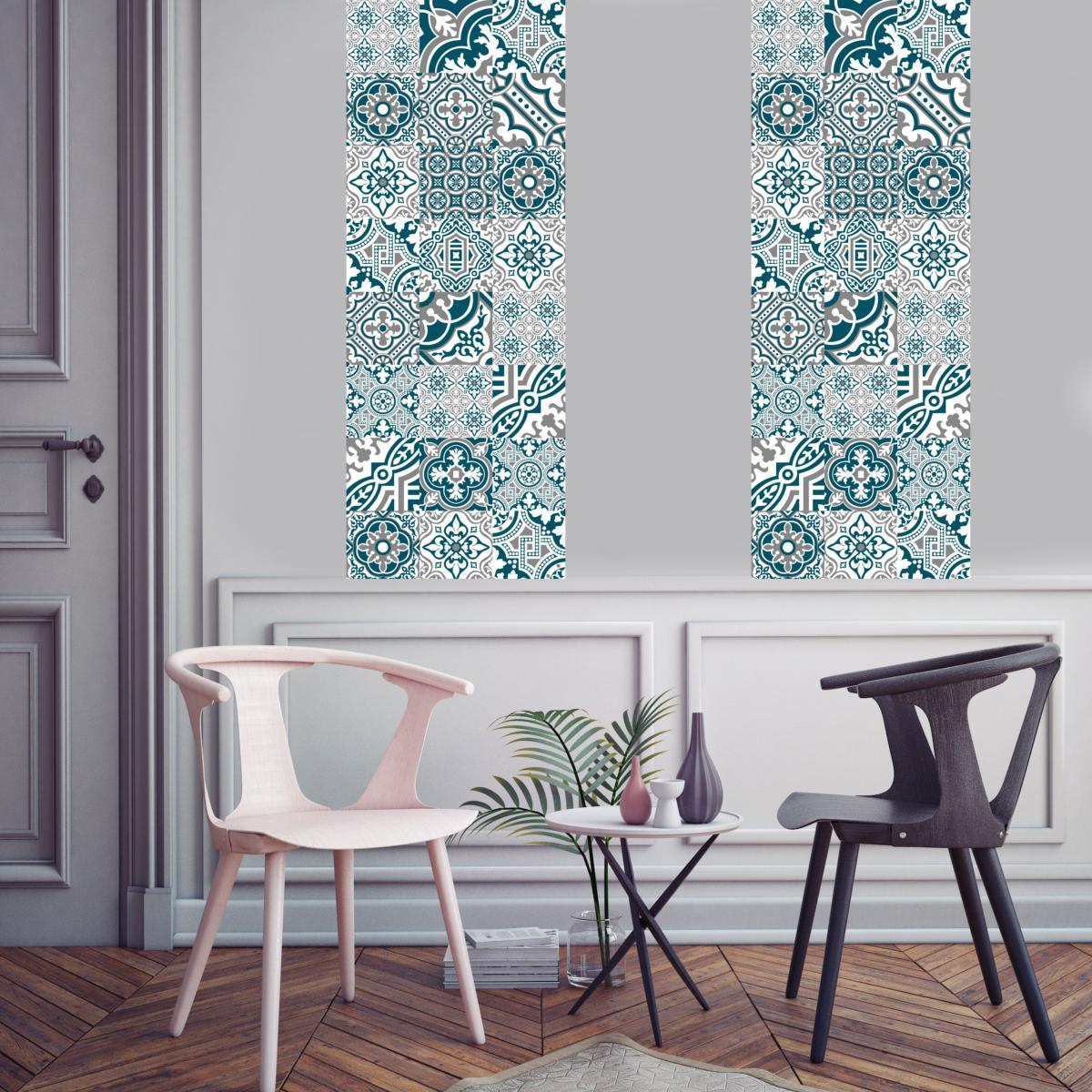 Papier Peint Style Atelier papier peint carreaux de ciment - madeleine