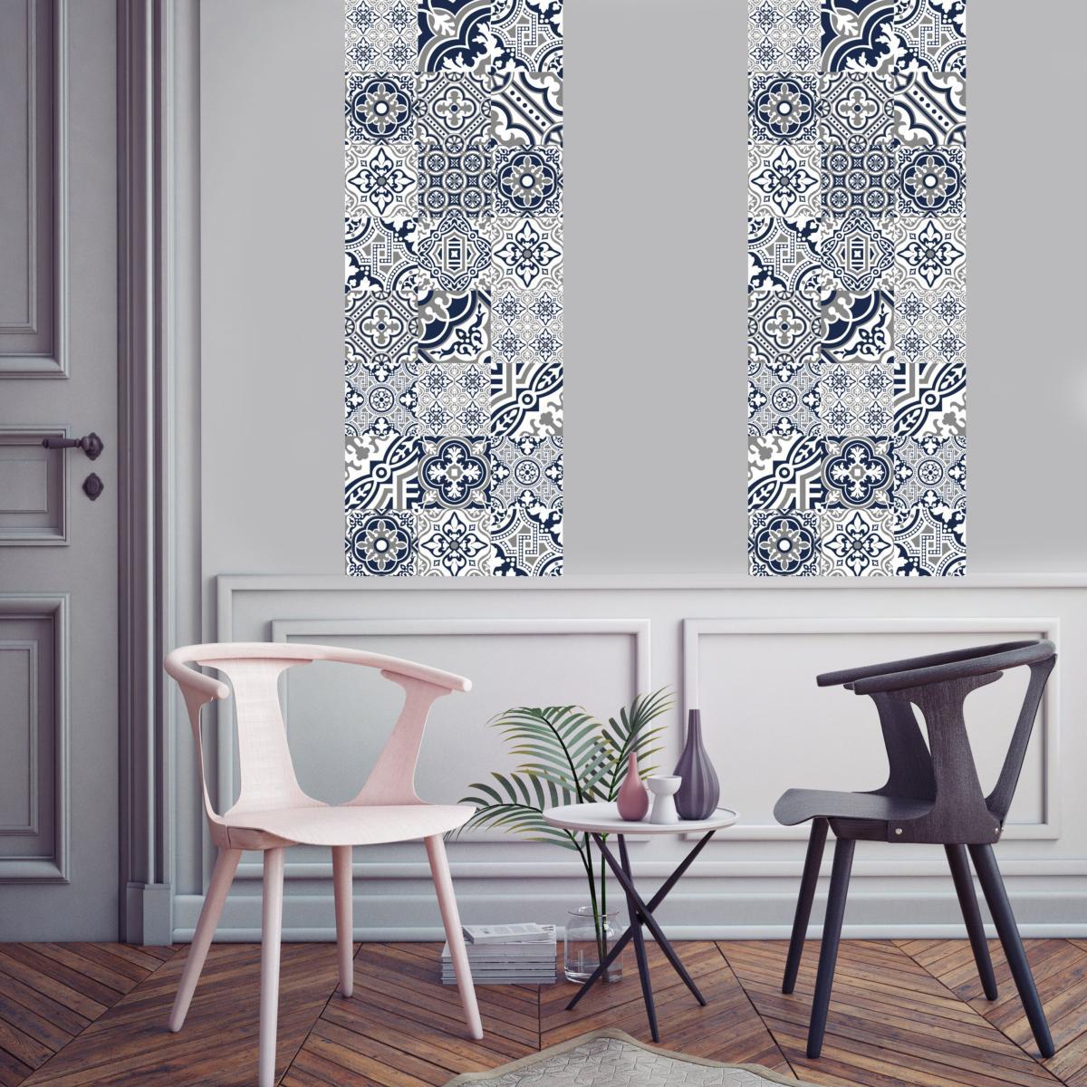 Papier peint Carreaux de Ciment - Madeleine