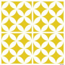 *Sticker Louison - Jaune Moutarde