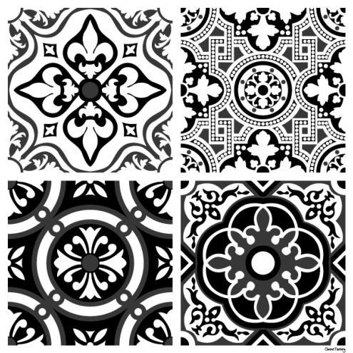 Stickers carreaux de ciment ciment factory - Carreaux de ciment stickers ...