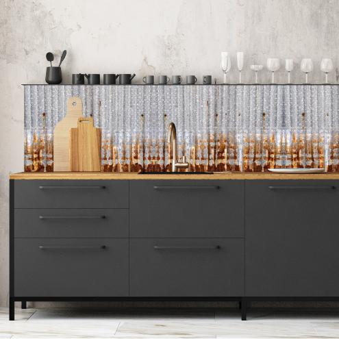 cr dence adh sive effet de mati re ciment factory. Black Bedroom Furniture Sets. Home Design Ideas
