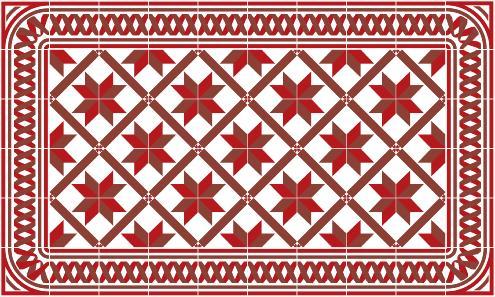 Soldes tapis vinyle carreaux de ciment for Tapis vinyl carreaux de ciment