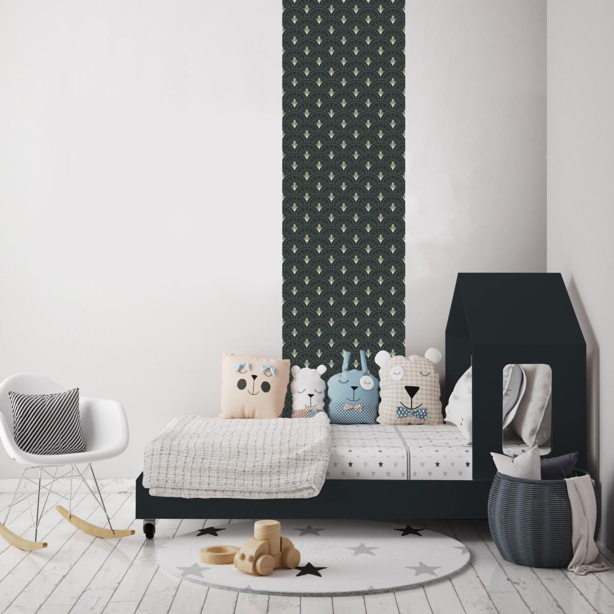 papier peint art d co collection jean l 39 int rieur design. Black Bedroom Furniture Sets. Home Design Ideas