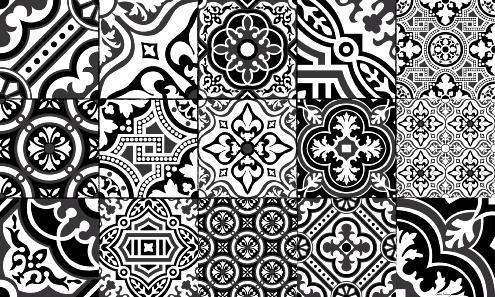 tapis vinyle carreaux de ciment ciment factory. Black Bedroom Furniture Sets. Home Design Ideas