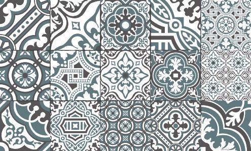 lino carreaux de ciment affordable les motifs carreaux de ciment font leur grand retour with. Black Bedroom Furniture Sets. Home Design Ideas