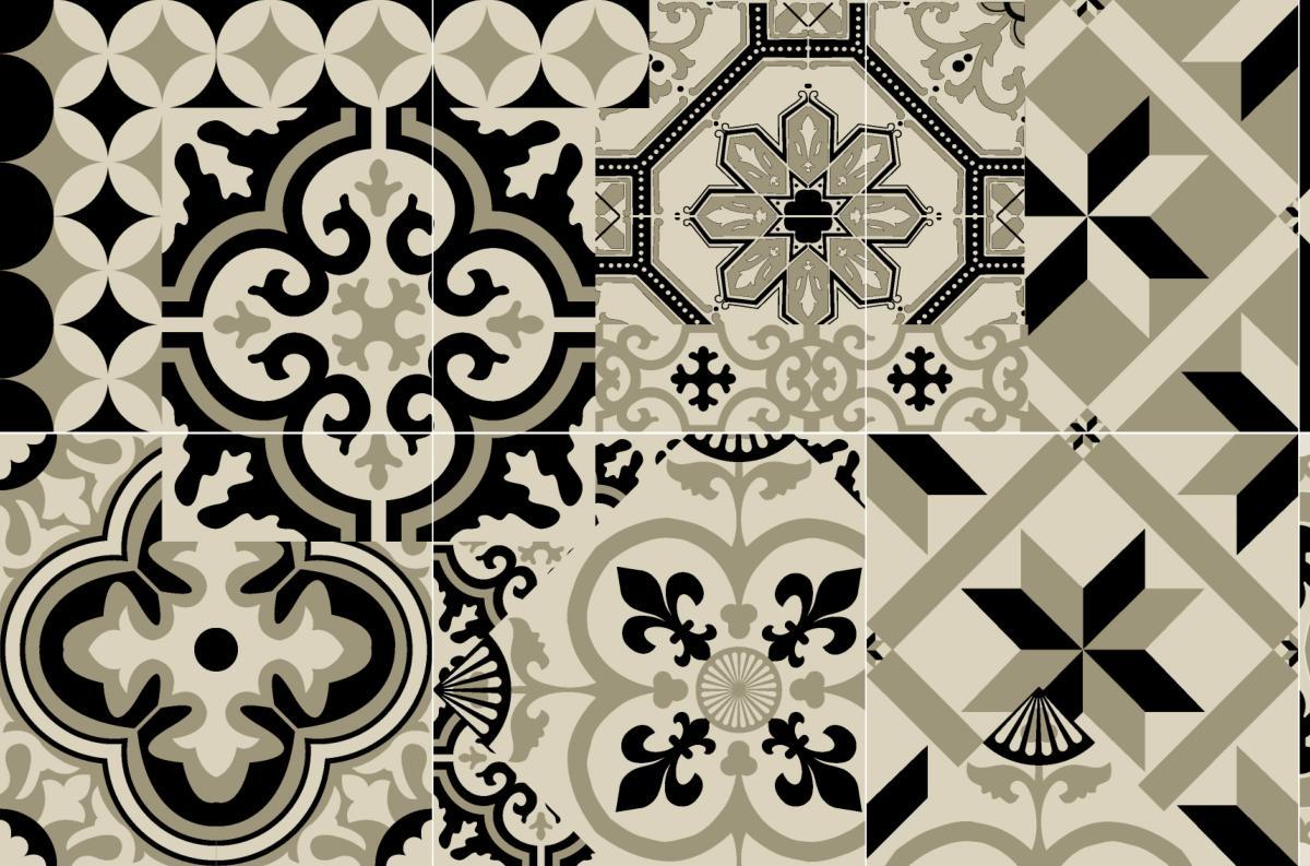 cr dence adh sive carreaux de ciment l on. Black Bedroom Furniture Sets. Home Design Ideas